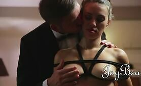 [JoyBear] (Joyful Tiffany Doll orders her man to tie her up and eat her cooch)