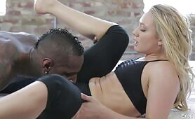 [EroticaX] (Passionate interracial action with stunning PAWG AJ Applegate)