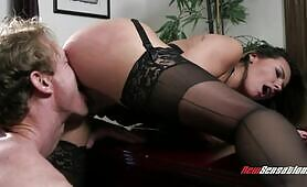 [NewSensations] (Lucky stud does everything to satisfy his voluptuous lady boss Danica Dillon)