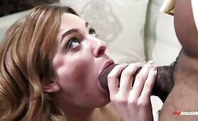 [NewSensations] (Whore wife Dahlia Sky films a kinky video for her looser husband)