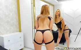 Hot Blonde Toys Her Pussy