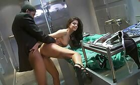 [Wicked] (Big black cock of FBI agent for busty autopsist bitch India Summer)
