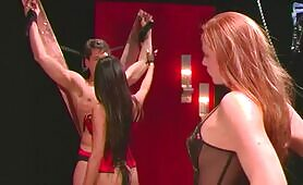 [LustCinema] (Asian Mistress shows English couple the pleasures of BDSM)