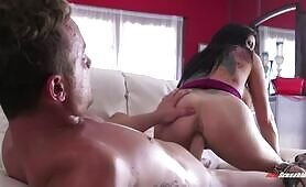 [NewSensations] (Bitchy mom with fake udders Romi Rain knows shit in cock riding)