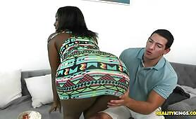 [RealityKings] (Appealing black sweetie Camille Amore is owned by white boy)