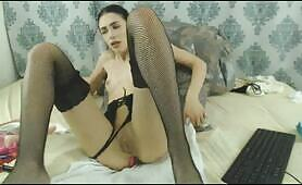 Intense Pussy Fuck Makes Horny Latina Cum