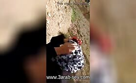 TUNISIAN GIRL SUCKING DICK IN THE MOUTAIN