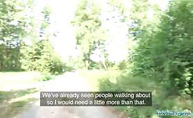 [Public Agent] Amber Deen (British Blonde Amber Deen first outdoor sex)