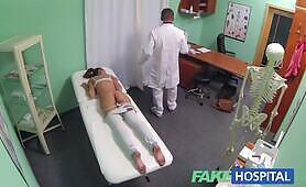 [FakeHospital] Gina Devine (Hot Brunette Patient returns craving the doctor)
