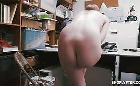 [Shoplyfter] Dolly Leigh (Sexy Dolly Leigh rides a dick to avoid punishment for shoplifting)