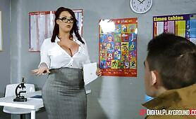 [Digital Playground] Harmony Reigns (Hot Teacher MILF Rides A Young Horny Student)