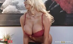 [Brazzers] Madison Ivy, Xander Corvus, Nicolette Shea (Voluptuous Blondie Shakes Her Curves On The Boss'cock)