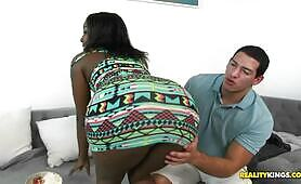 [Reality kings] Camille Amore (Appealing black sweetie Camille Amore is owned by white boy)