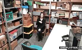 [Shoplyfter] Tali Dova (Teen Babe Gets Punished By Huge Cock)